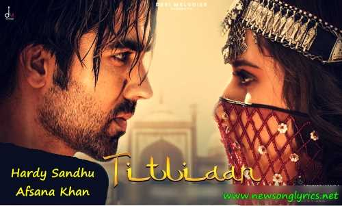तितलियाँ Titliaan LYRICS IN HINDI Hardy Sandhu