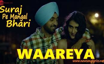 WAAREYA LYRICS IN HINDI Suraj Pe Mangal Bhari
